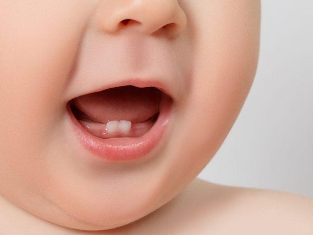 寶寶出牙順序和時間